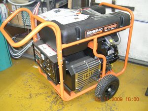 15 kW Generac electric start generator